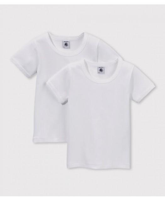 2 Tee-shirt MC Petit Bateau