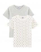 2pc T-shirt MC garcon Petit...