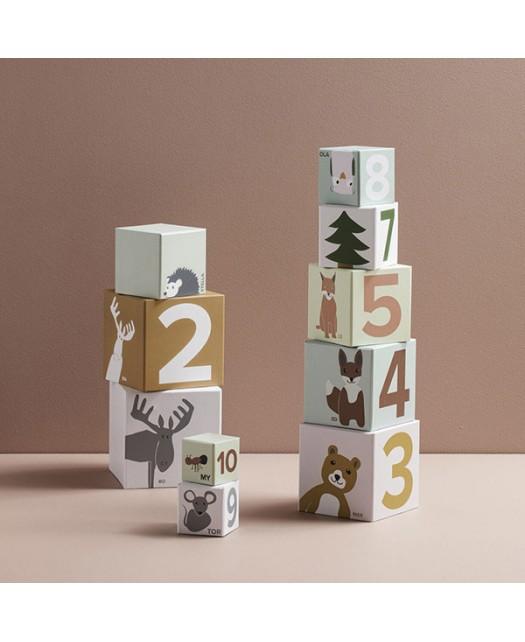Cubes en papier- Kids Concept