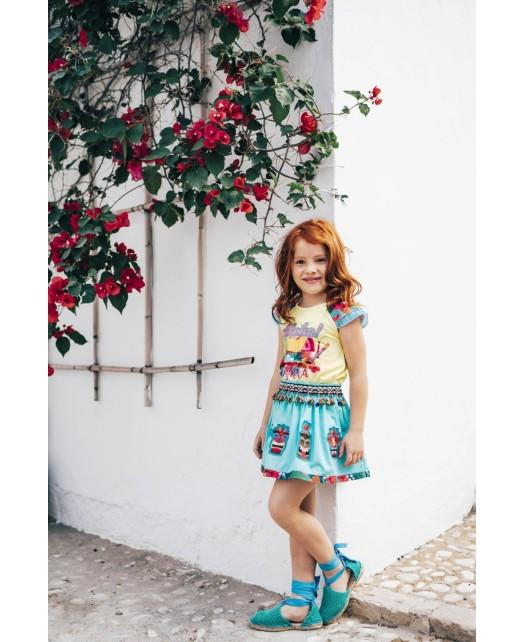 T-shirt fille Rosalita-...