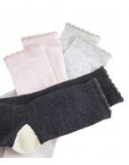 3 paires de chaussettes...