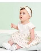 Robe Mc - Marshmallow Or fille