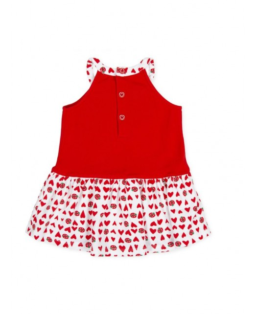 Robe coccinelle fille...