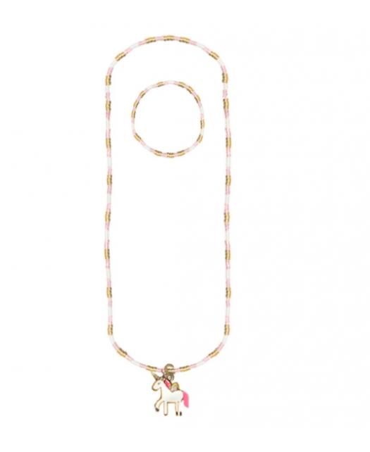 Set Collier   Bracelet licorne