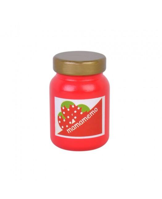 Pot de confiture de fraise...