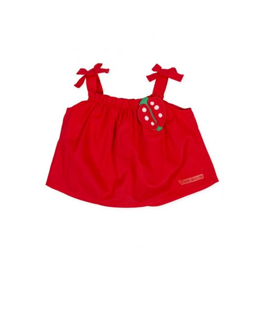 Top coccinelle fille Agatha...
