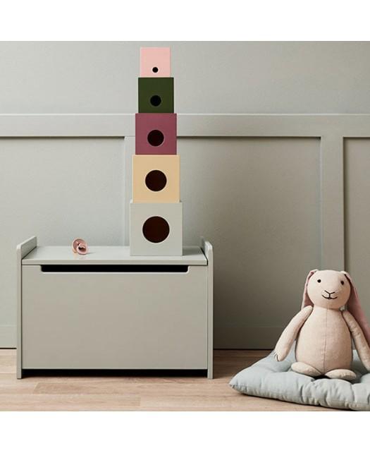 Cubes en bois- Kids Concept