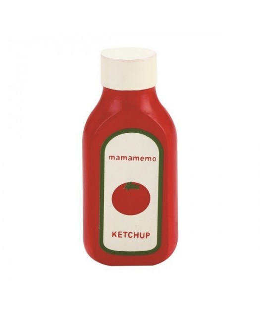 Tube de ketchup en bois...