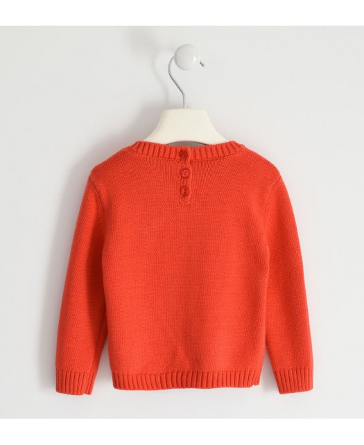 Pull iDo fille - orange...